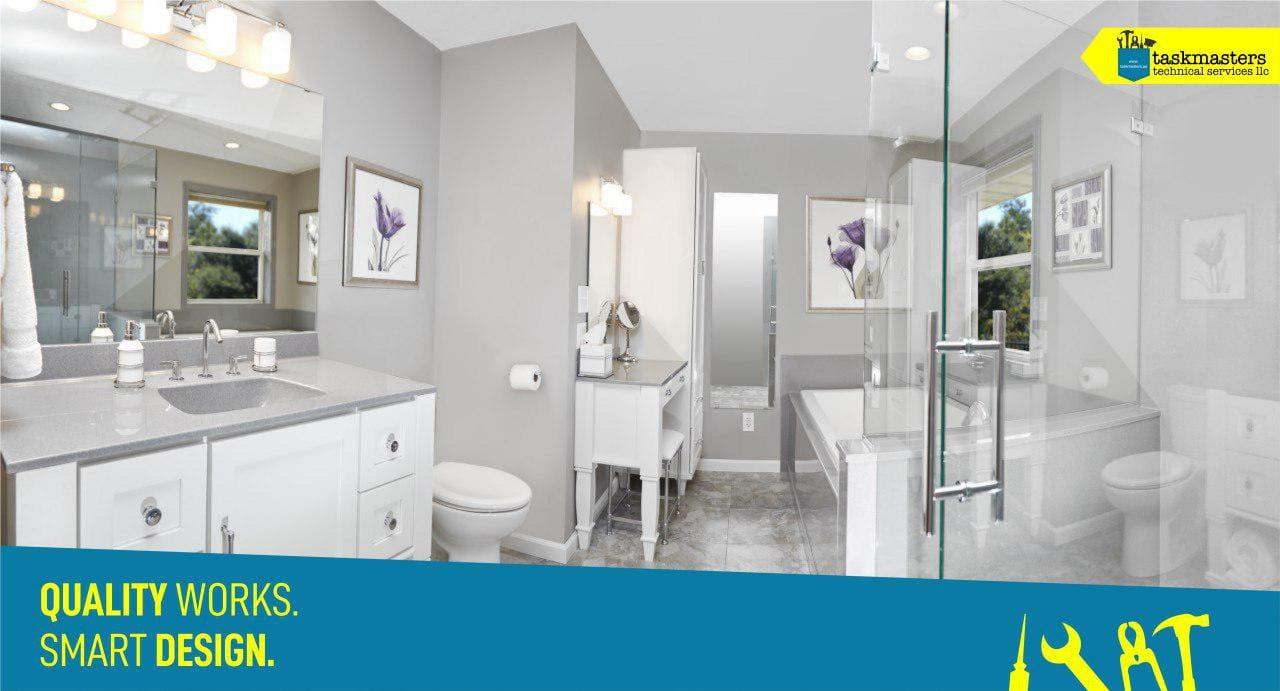 bathroom renovation in Dubai-Taskmasters