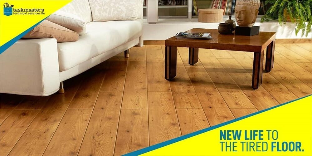 wooden flooring in Dubai-Task Masters