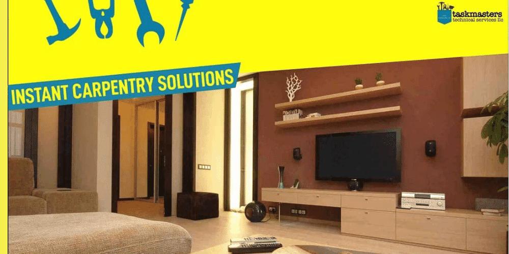 carpentry services in dubai - Taskmasters