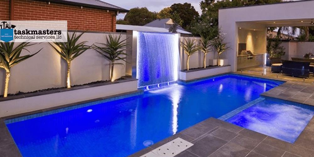 swimming pool renovations by Task Masters, Dubai